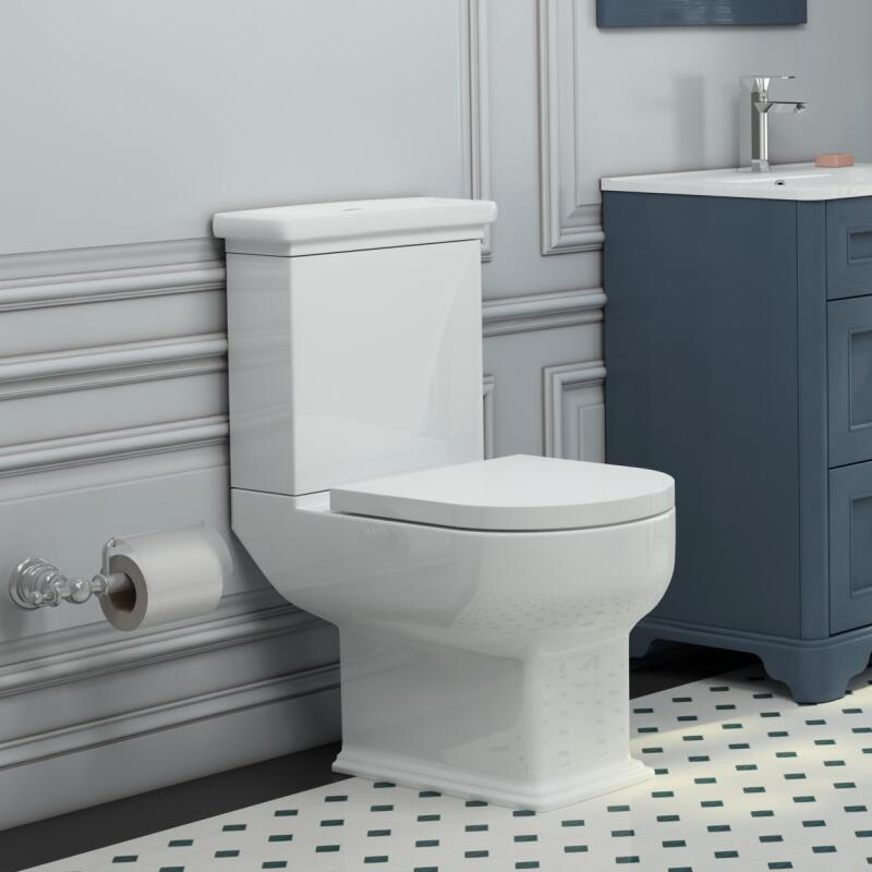 Melissa Close Coupled Toilet with Soft Close Seat