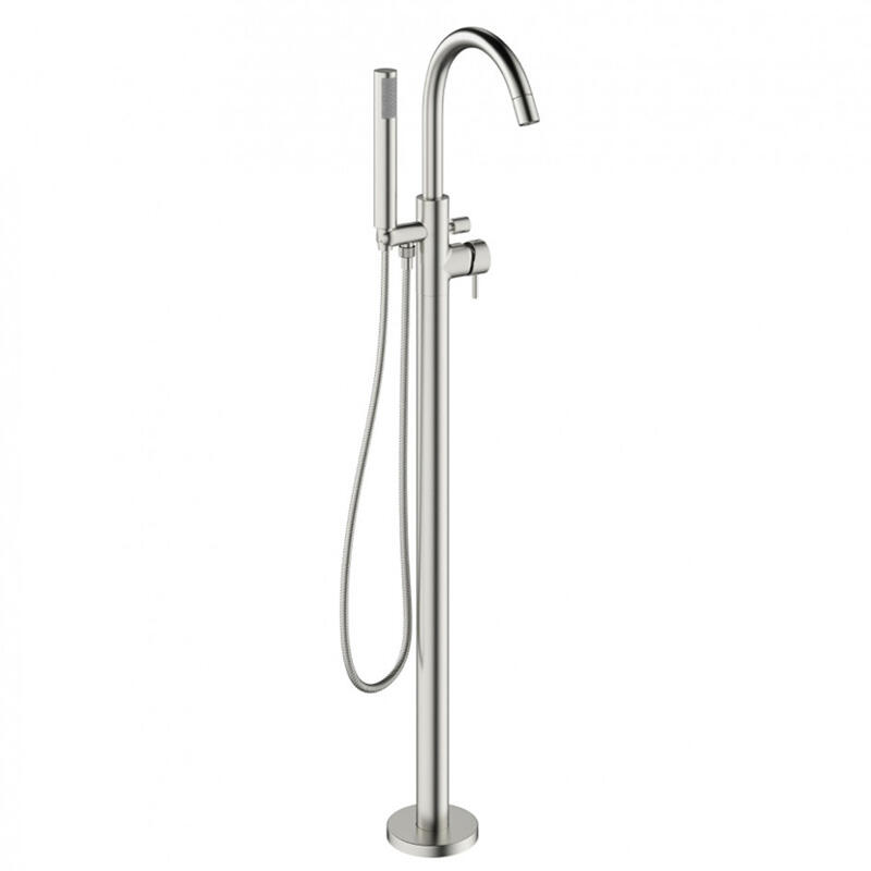 MIKE PRO Bath Shower Mixer Floor Standing Stainle