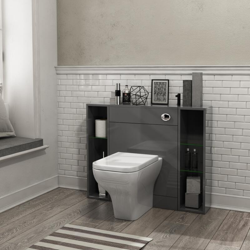 PATELLO BACK TO WALL 1000 COMBINATION UNIT Grey