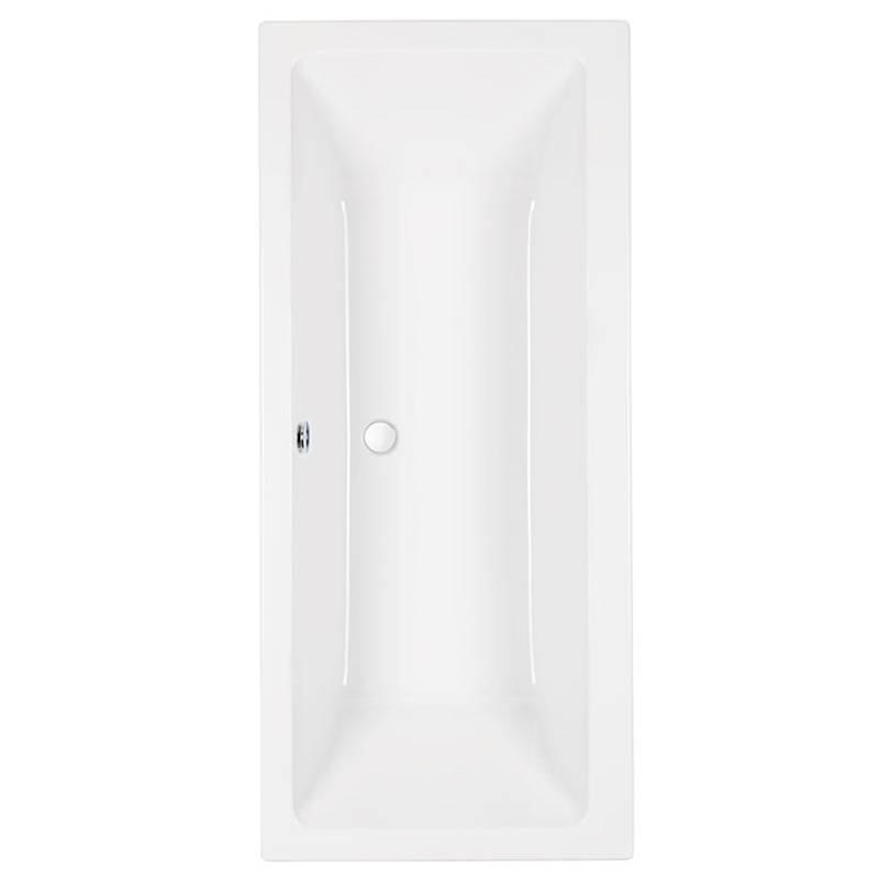 Quantum Duo 1700 x 700 plain 5mm White