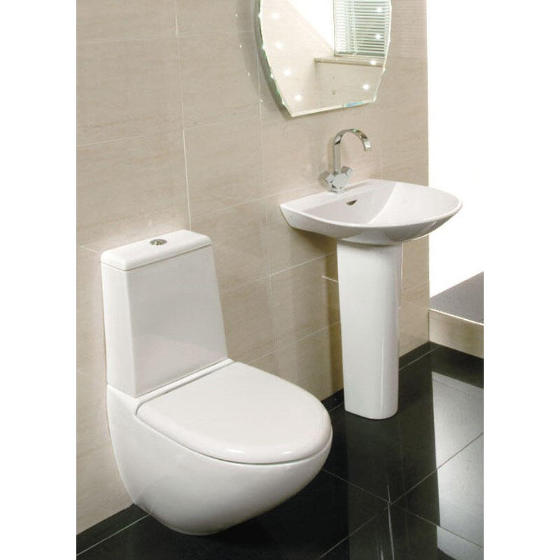 Rak Reserva 4 Piece Bathroom Suite with Soft Close Seat