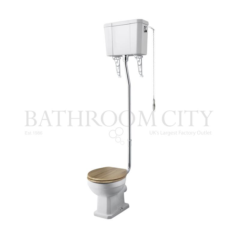 Richmond High Level WC and Flush Pipe