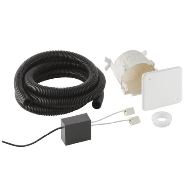 roughing box & transmer mains powered touchless sensor flush,