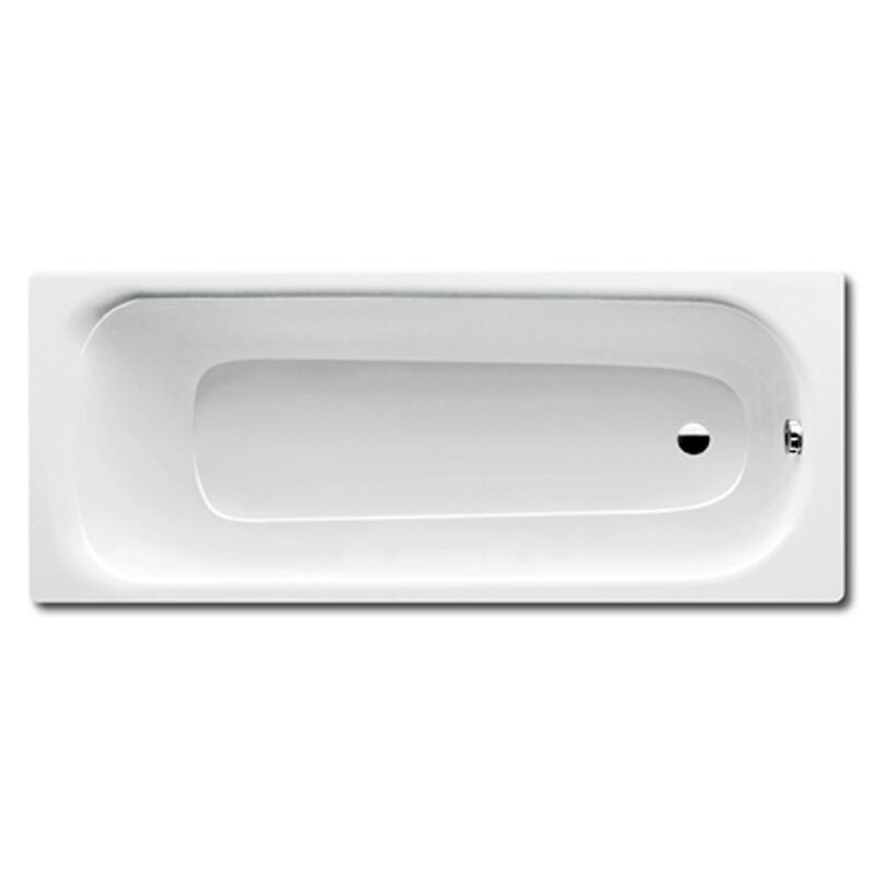 Saniform Medium Bath: 1700 x 700mm, No Tap Holes