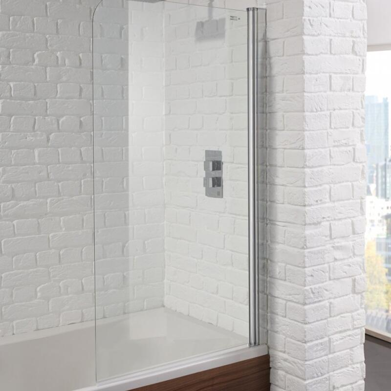 Single Bath Screen 800 6mm