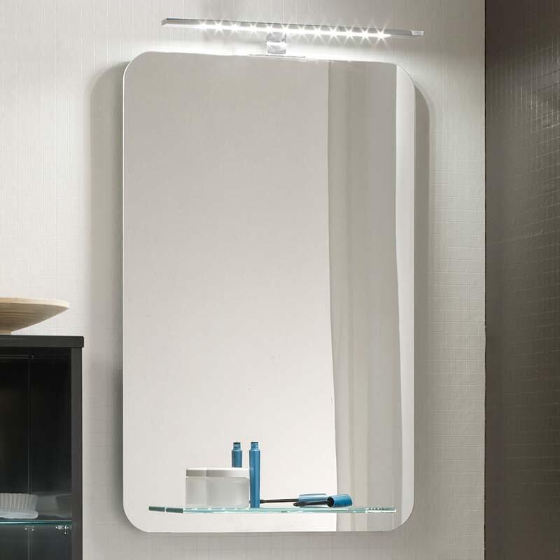 Solitaire 6900 460 Bathroom mirror with shelf