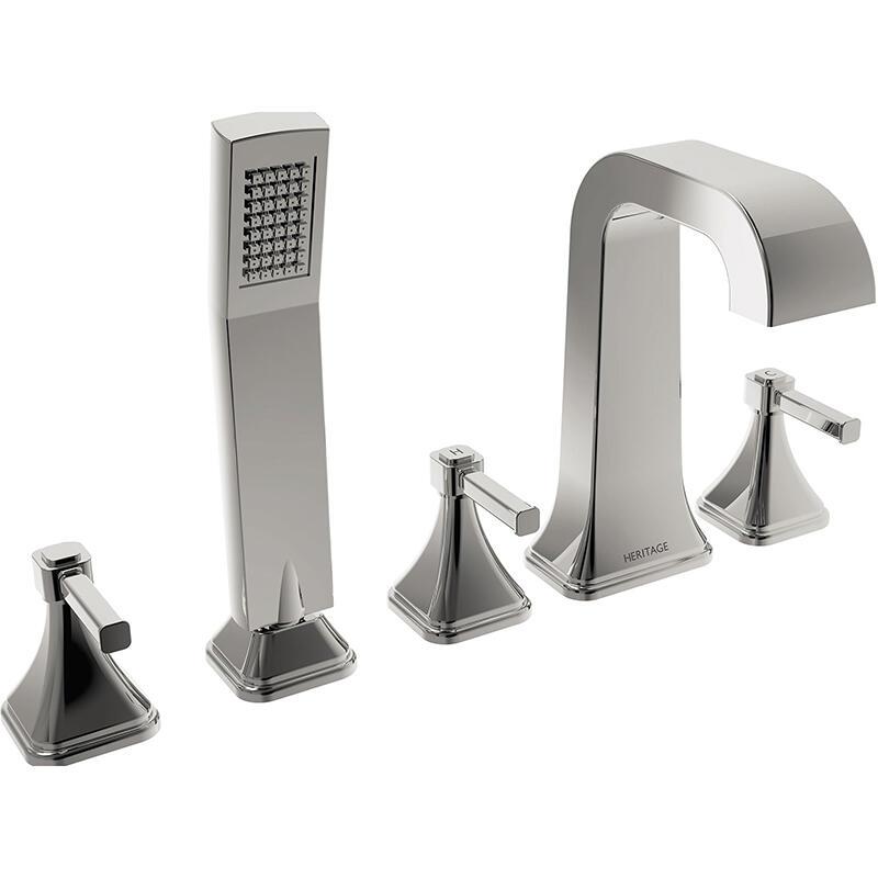 Somersby 5 Hole Bath Shower Mixer Chrome