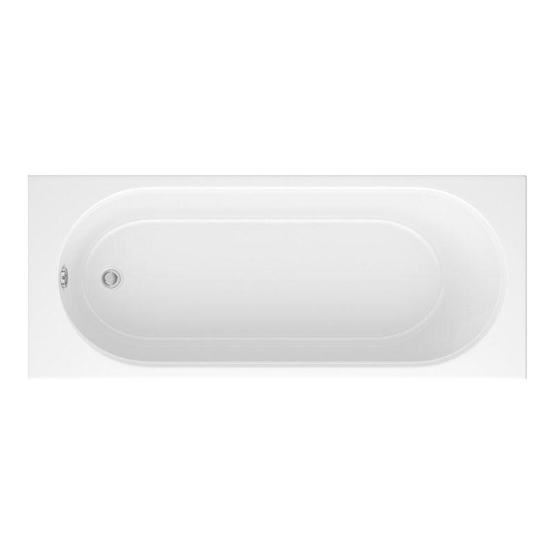Trojan 4mm Cascade 1700 x 700 bath White 2TH