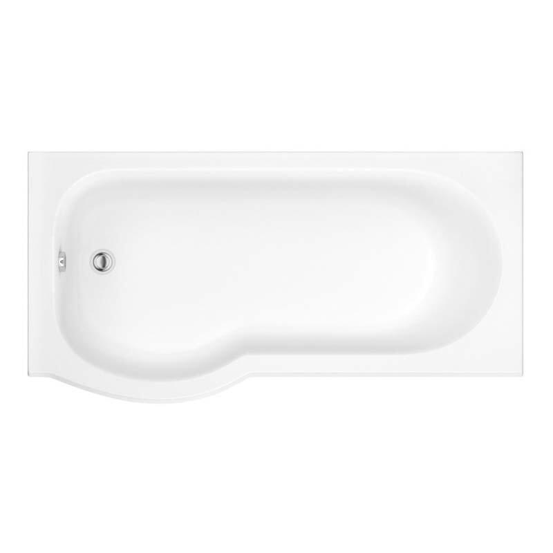 Trojan Concert 1675 x 750 LH Easy Access Bathe Easy Bath White