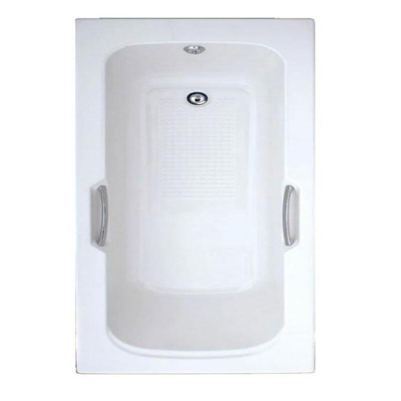 1700mm Trojan Granada 5mm Bath T/Grip White 2TH