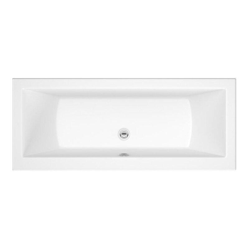 Trojan Solarna 1700mm x 700mm Double Ended 5mm Bath White