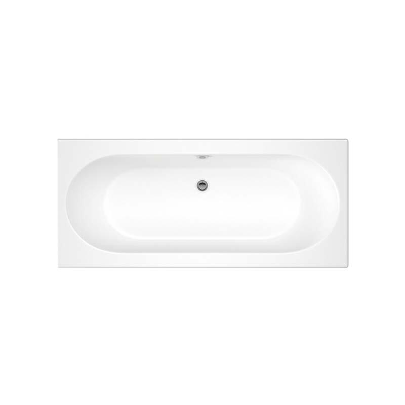 Trojancast Cascade 1700 x 700 Bath White