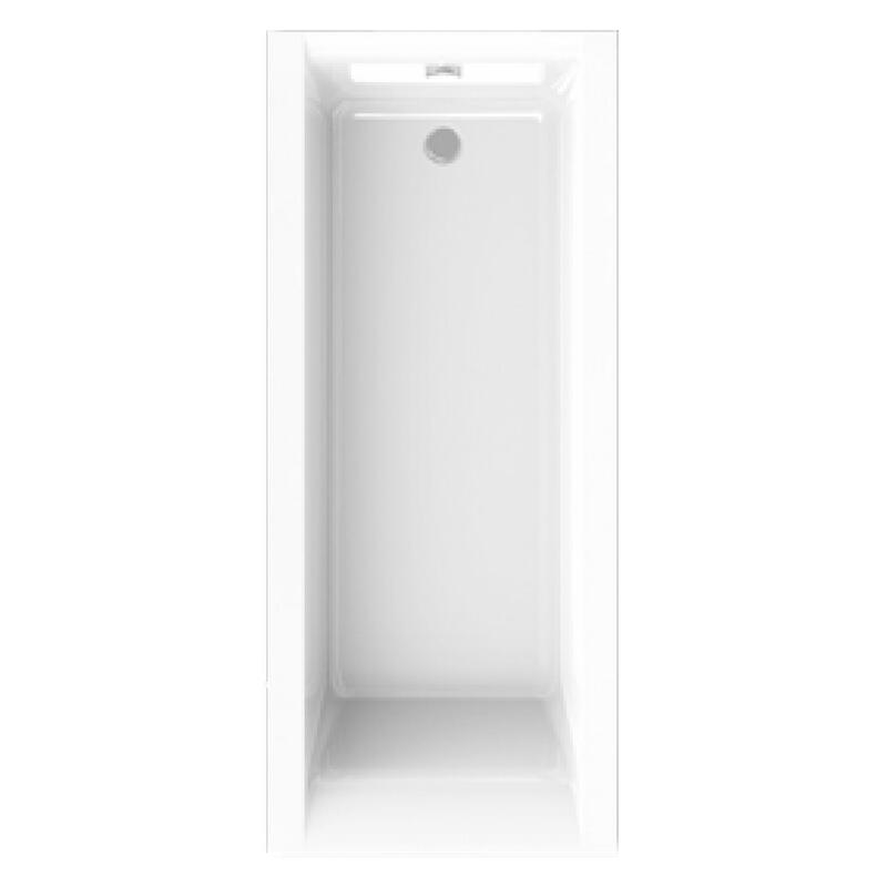 Urban Rectangular 1700 x 725mm 5mm White