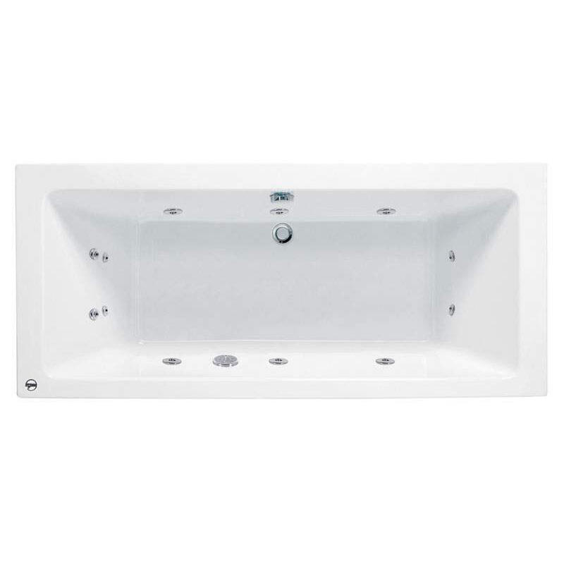 Whirlpool Bath: 8 Jets (4 either side)