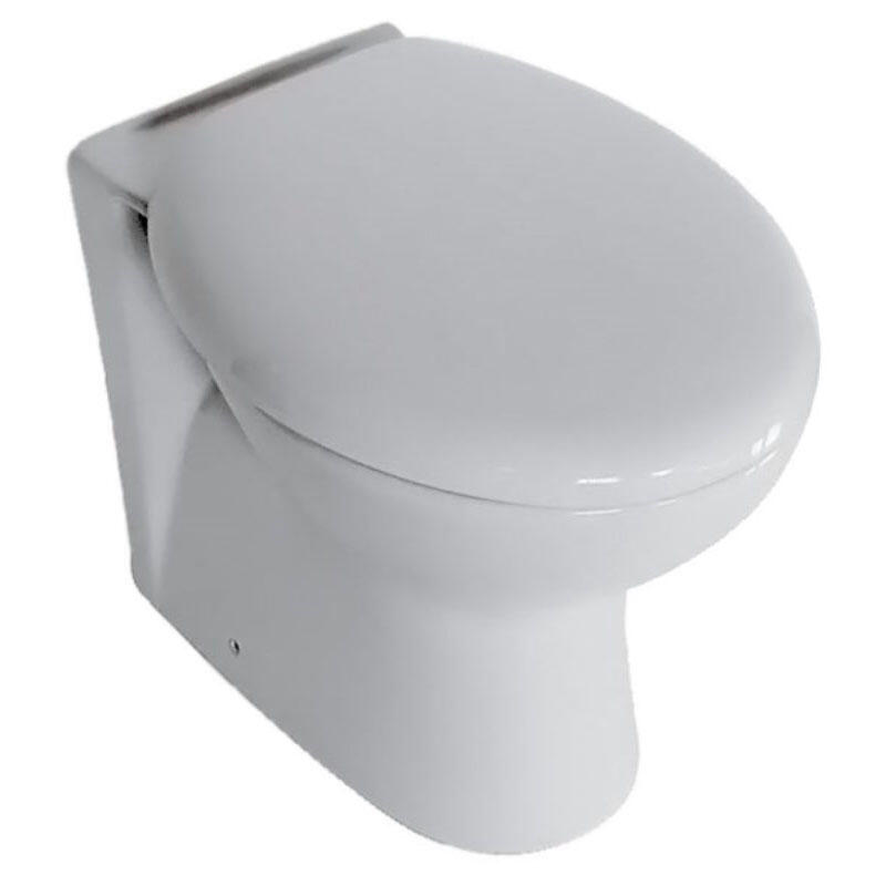 Yubo Back to Wall Toilet Pan with Soft Close Seat