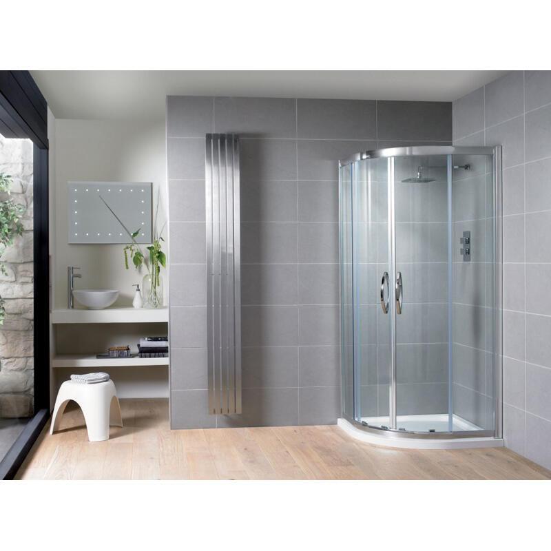 Double Door Quadrant 1200 x 900 with Left Hand Tray & Waste