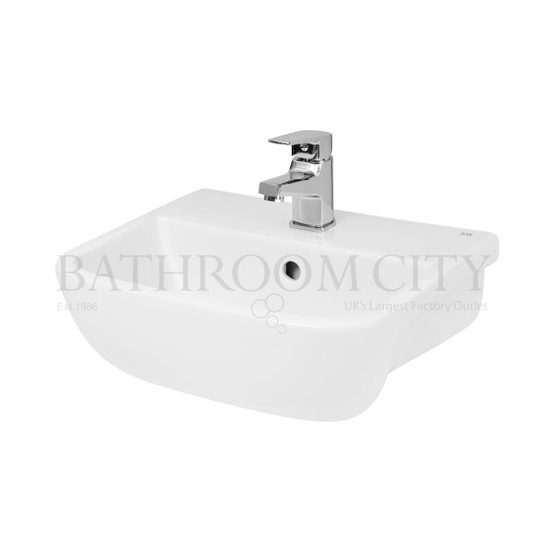 Aria Compact Rectangle Semi-rec basin