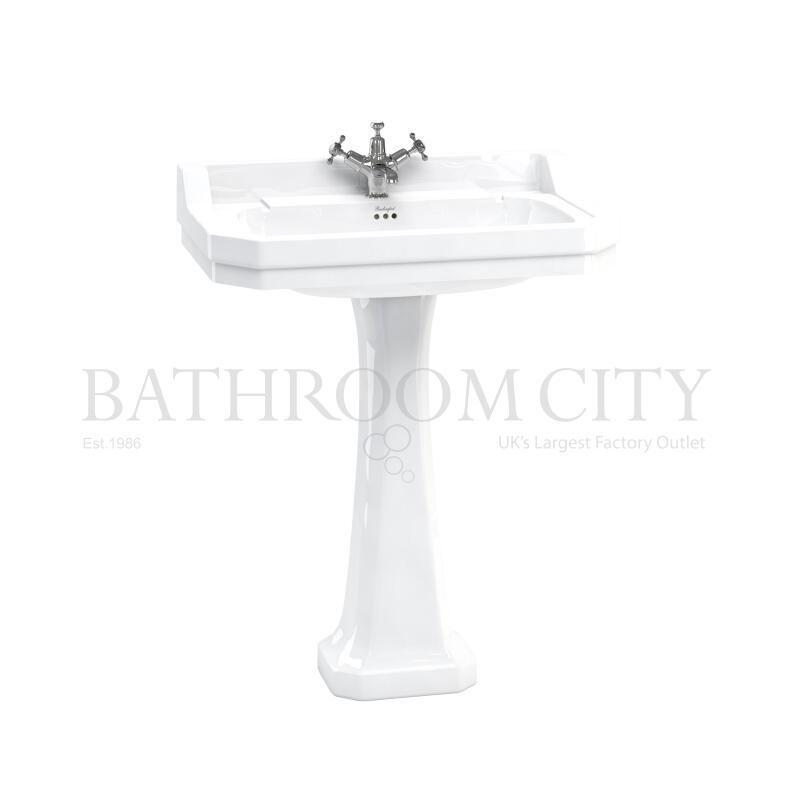 Edwardian Basin 80cm and standard pedestal 1TH