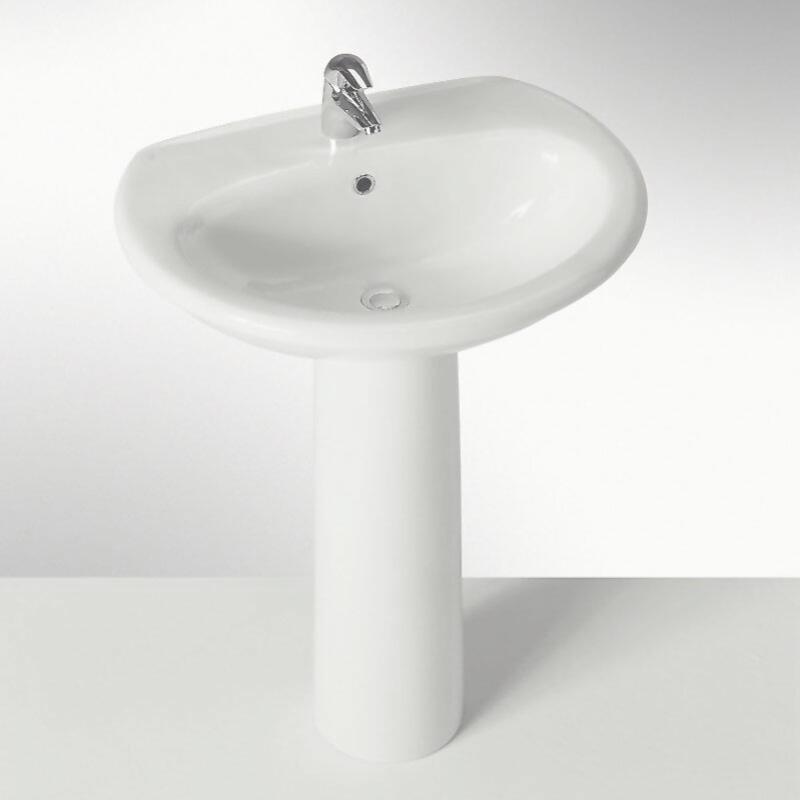 Clizia 560mm Basin and Pedestal