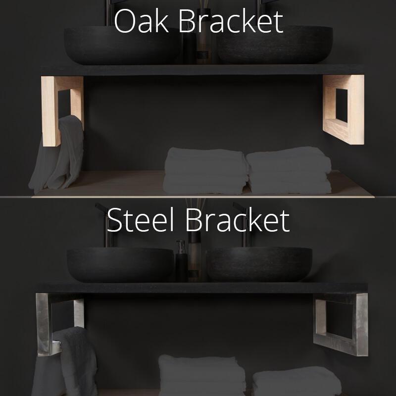 Solid Oak Suspension Bracket