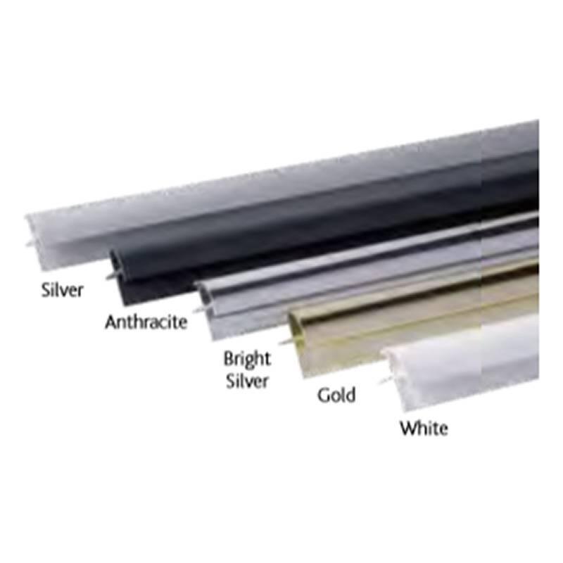 aluminium end U Bright Silver