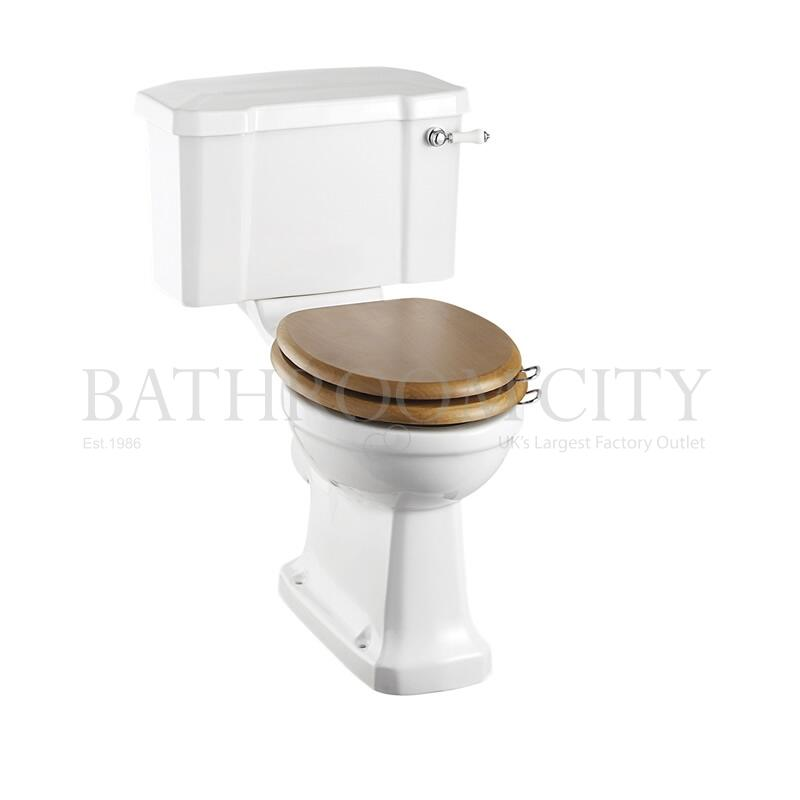 Regal Close Coupled Toilet and cistern 51cm with ceramic lever