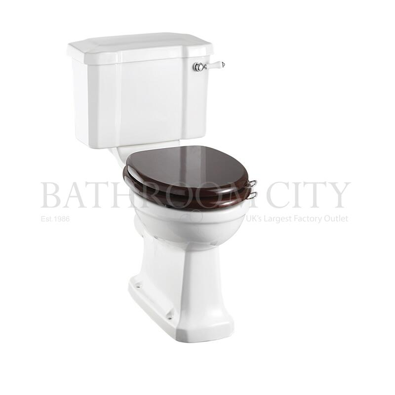 Close Coupled Toilet and cistern 44cm and ceramic lever