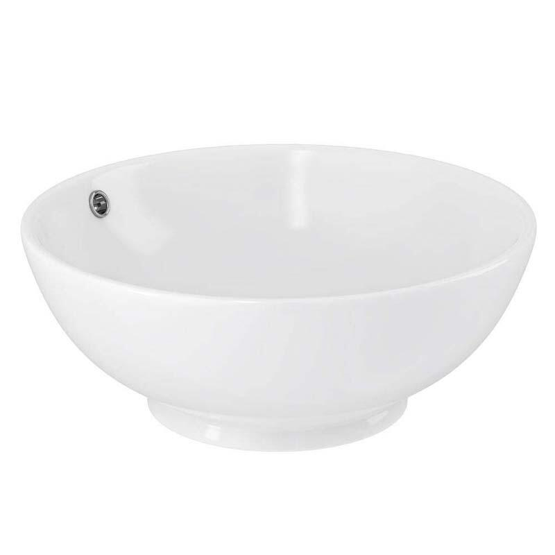 Round 420mm Vessel no tap hole sit on wash basin