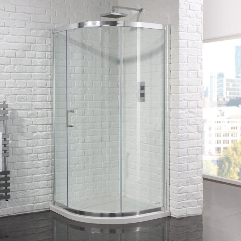 Venturi 6 Single Door Shower Quadrant Enclosure 900 6mm