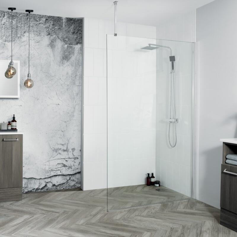 Venturi 8 Wetroom Panel: 500mm