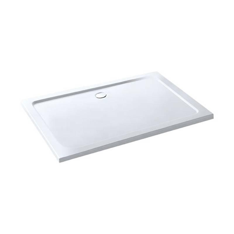Volente 1600 x 700 ABS stone resin tray White