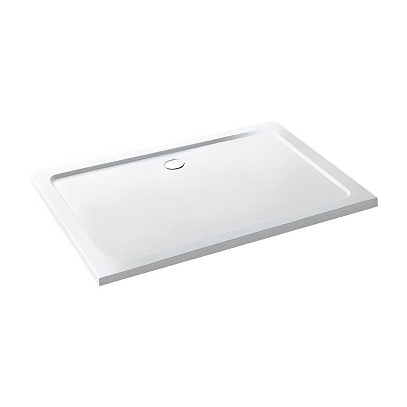 Volente 800 x 700 ABS stone resin tray White