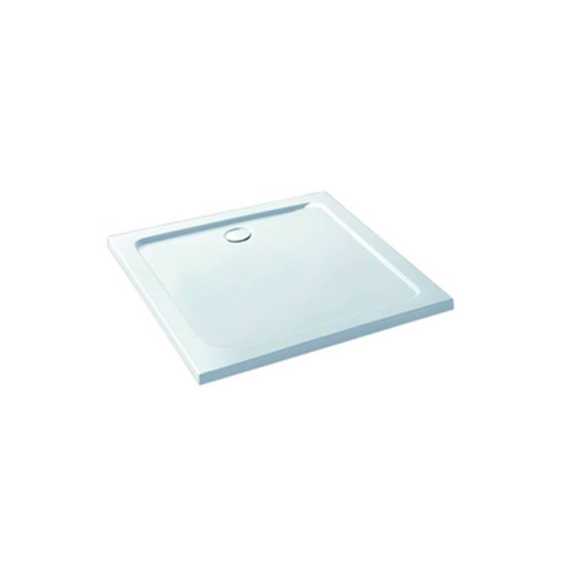 Volente 900x900 ABS stone resin tray White