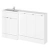 Designer bathroom furniture reduced depth with colour options