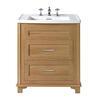 Thurlestone 2 Drawer Vanity Unit 3TH straight Luxurious Bathroom