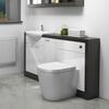 Hacienda 1500 Vanity Unit White curved Designer and Stylish Bathroom Accessory