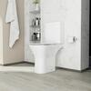 AMORE Open Back WC And Ultra Thin Seat