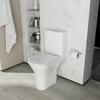 Patello Open Back Comfort Height Toilet