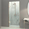 Eauzone Hinged Door from Wall For Recess 900mm Fashionable Bathroom