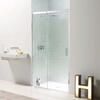 Eauzone Sliding Door Recess 1500mm Unique Design Bathroom Accessory