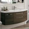 6001 Solitaire Bathroom Vanity Unit 2 Draw 2 Door 1290 - 175382