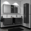 double grey bathroom vanities