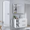 SONIX BATHROOM FURNITURE SUITE WHITE Luxurious