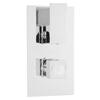 Chrome Art Thermostatic Twin Valve