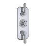 Topaz Triple Concealed Shower Valve with Diverter for Your Bathroom