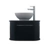 traditional  Carlyon Roseland 1 Drawer Vessel Bowl Wall Hung Vanity Unit with a range of colour options