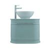 traditional  Carlyon Roseland 2 Drawer Vessel Wall Hung Vanity Unit with a range of colour options