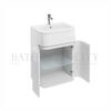 D45 Gullwing cabinet with 600 Quattrocast basin - 178551