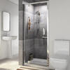 Radiant Pivot Shower Door Reduced Height 760mm - 179314