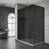 Jaquar Black Shower Enclosure Dark Glass Sliding - 179379